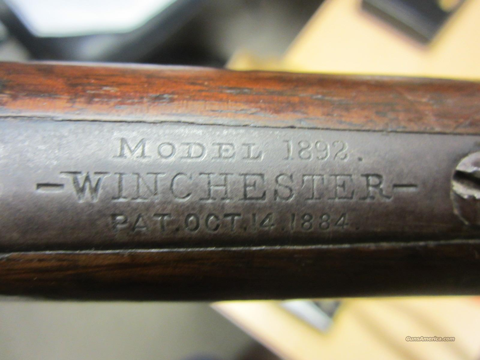 Winchester 1892 Antique 32 WCF 32-20  Guns > Rifles > Winchester Rifles - Pre-1899 Lever