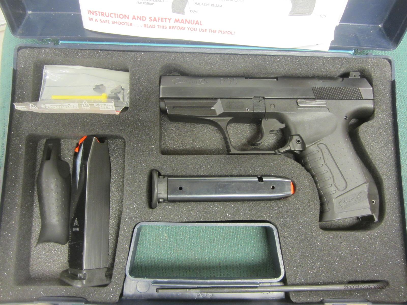 WALTHER P99 40 S&W  Guns > Pistols > Walther Pistols > Post WWII > P99/PPQ
