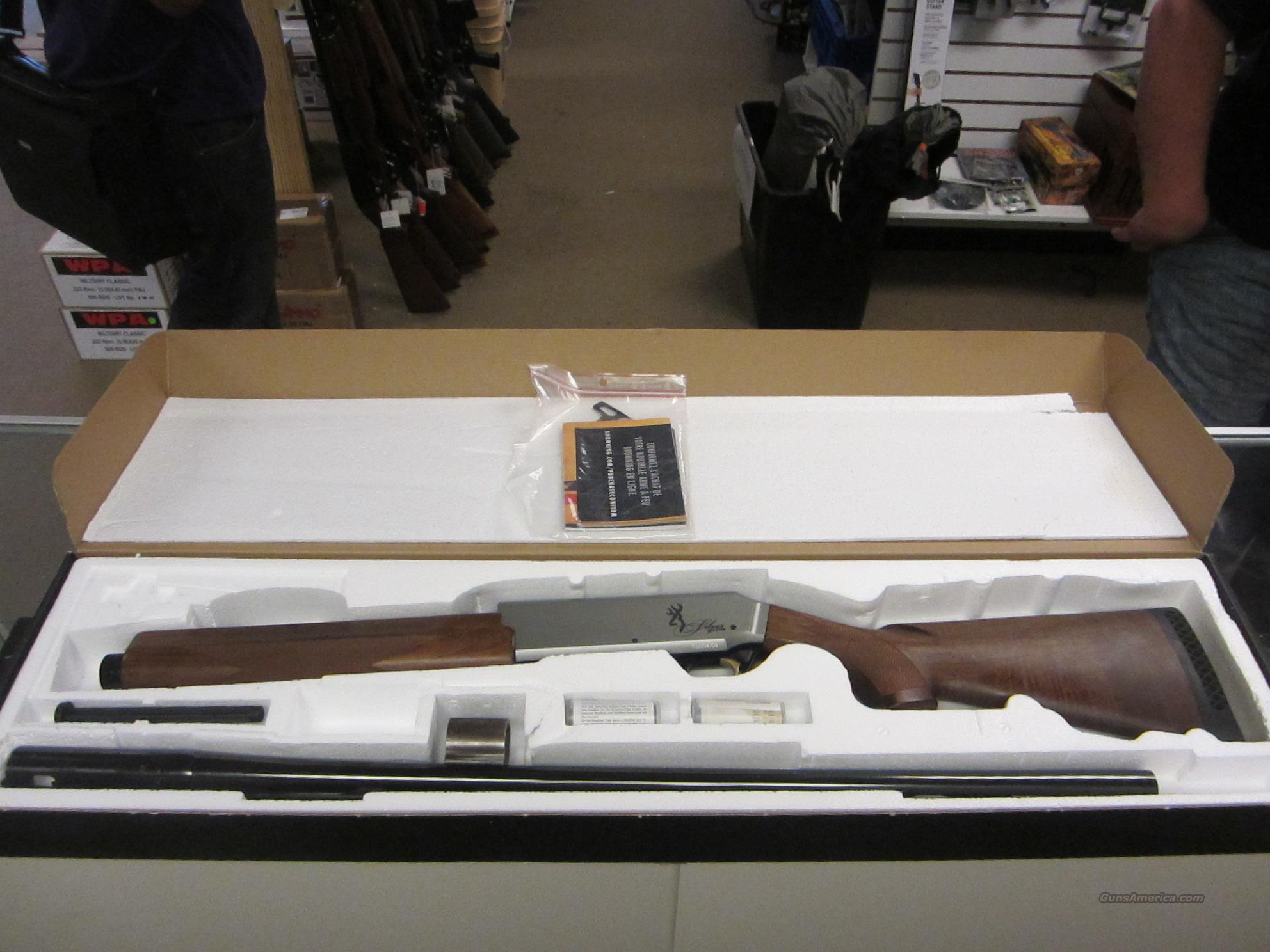 Browning Silver Hunter 12 Gauge in Box  Guns > Shotguns > Browning Shotguns > Autoloaders > Hunting