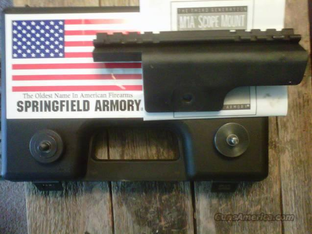 Springfield Gen 3 M1A Mount  Non-Guns > Scopes/Mounts/Rings & Optics > Mounts > Tactical Rail Mounted