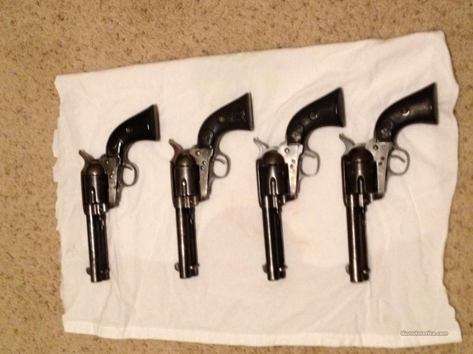 Colt Single Action Army First Generation  Guns > Pistols > Colt Single Action Revolvers - 1st Gen.