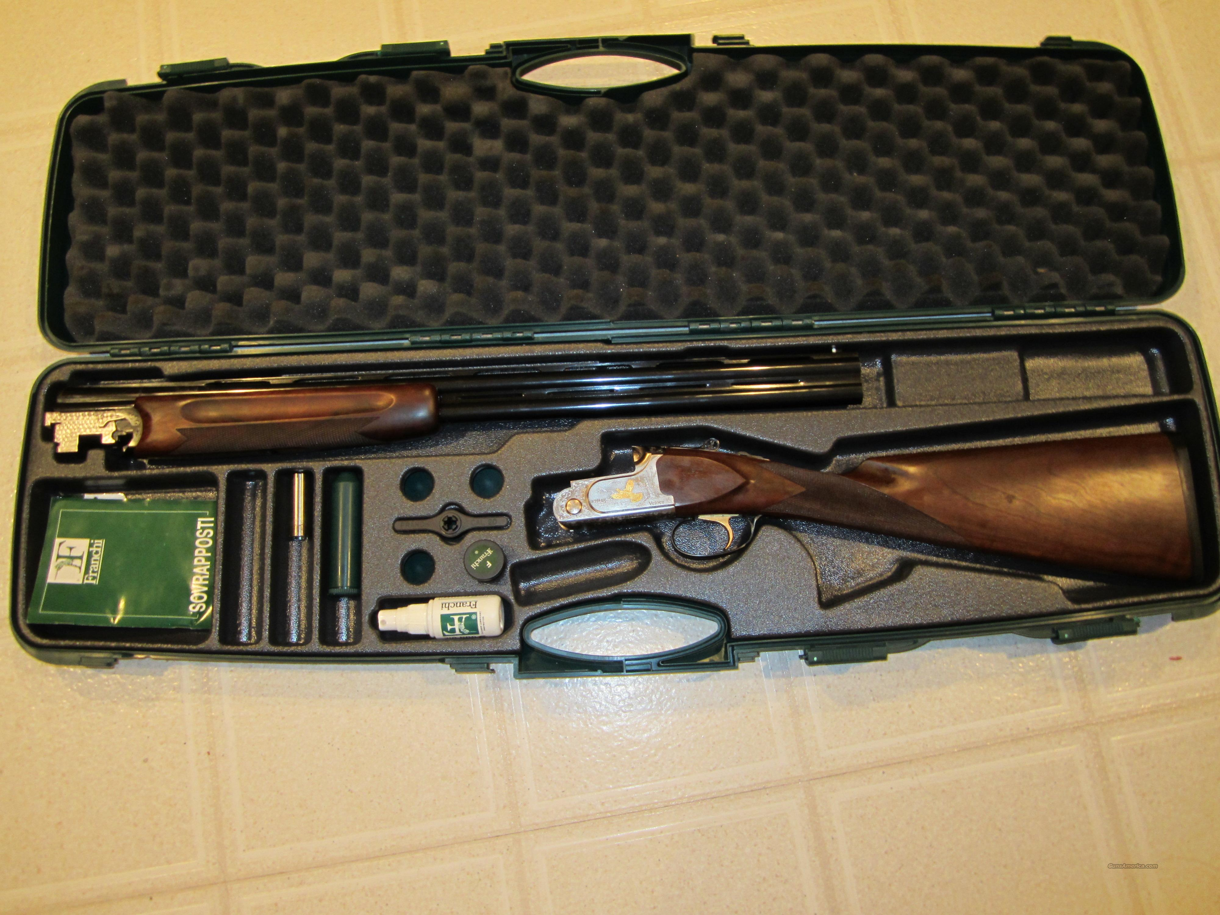 Franchi Veloce 20ga O/U  Guns > Shotguns > Franchi Shotguns > Over/Under > Hunting