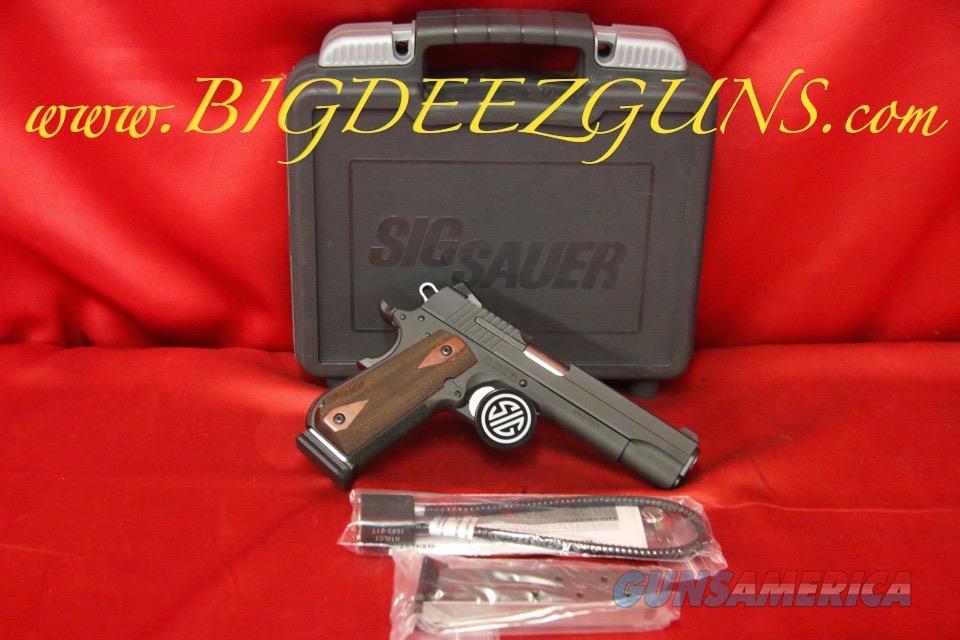 Sig Sauer 1911 FASTBACK 1911F-45-BSS 45ACP 2 MAG FREE SHIPPING NO FEES  Guns > Pistols > Sig - Sauer/Sigarms Pistols > 1911