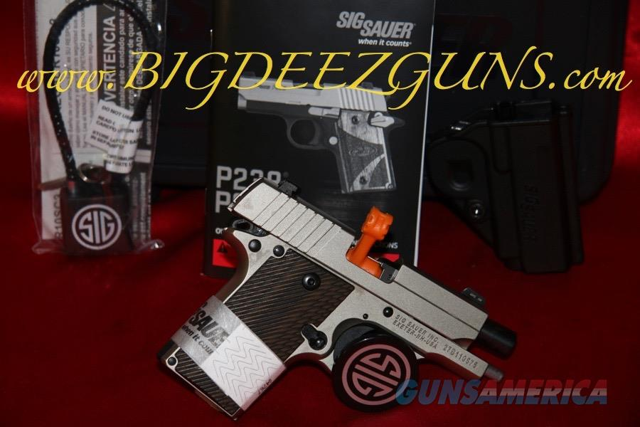Sig Sauer P238 NICKEL 238-380-NI .380ACP 1911 POCKET CONCEAL CARRY  Guns > Pistols > Sig - Sauer/Sigarms Pistols > P238