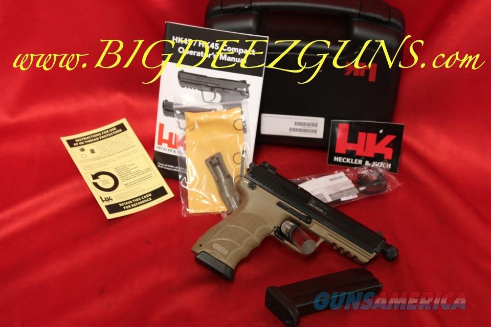 Heckler Koch HK HK45 TACTICAL TAN THREADED BARREL 45ACP RARE   Guns > Pistols > Heckler & Koch Pistols > Polymer Frame