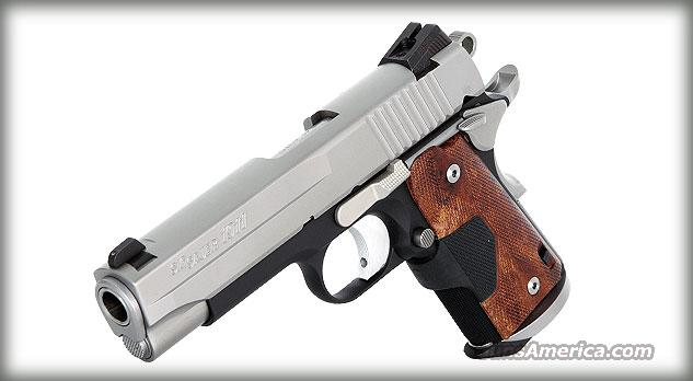 Sig Sauer 1911 C3 With CRIMSON TRACE LASER WOOD GRIPS  Guns > Pistols > Sig - Sauer/Sigarms Pistols > 1911