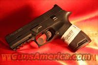 Sig Sauer P250 COMPACT NIGHT SIGHT .45ACP 250C-45-BSS 9 ROUND CAPACITY   Guns > Pistols > Sig - Sauer/Sigarms Pistols > P250