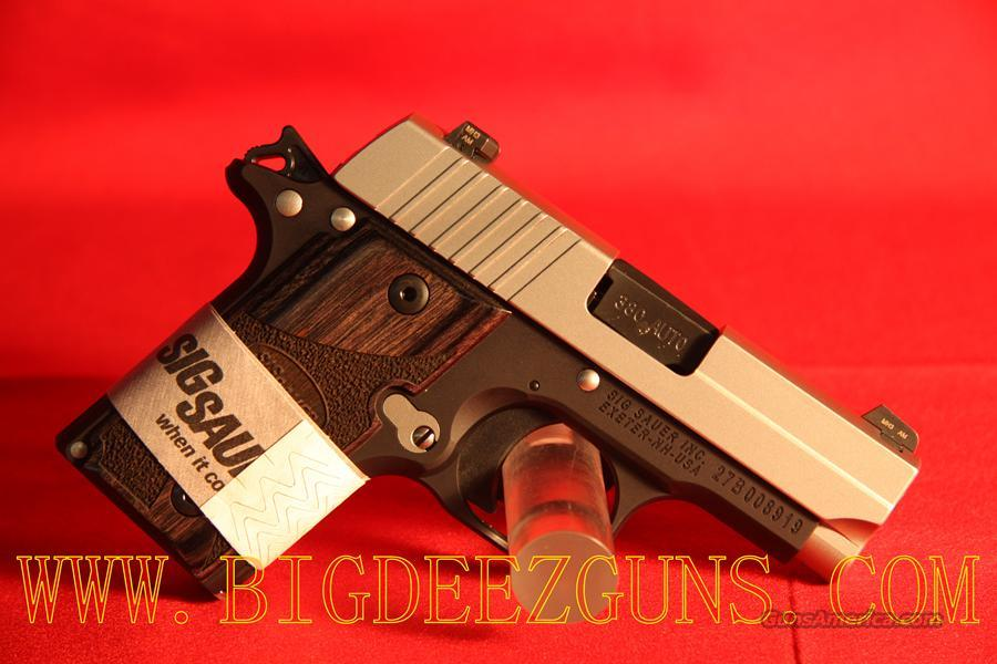 Sig Sauer P238 BLACKWOOD .380ACP 1911 CONCEAL CARRY 238-380-BG  Guns > Pistols > Sig - Sauer/Sigarms Pistols > P238