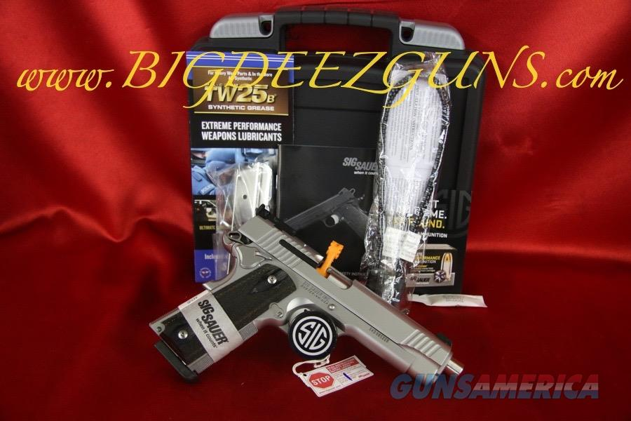 Sig Sauer 1911 TRADITIONAL MATCH ELITE STAINLESS .40S&W 1911T-40-SME 8 ROUND  Guns > Pistols > Sig - Sauer/Sigarms Pistols > 1911