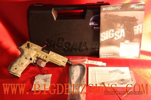 Sig Sauer MOSQUITO .22lr DESERT DIGITAL THREADED BARREL Railed MOS-22-DD-TB  Guns > Pistols > Sig - Sauer/Sigarms Pistols > Mosquito