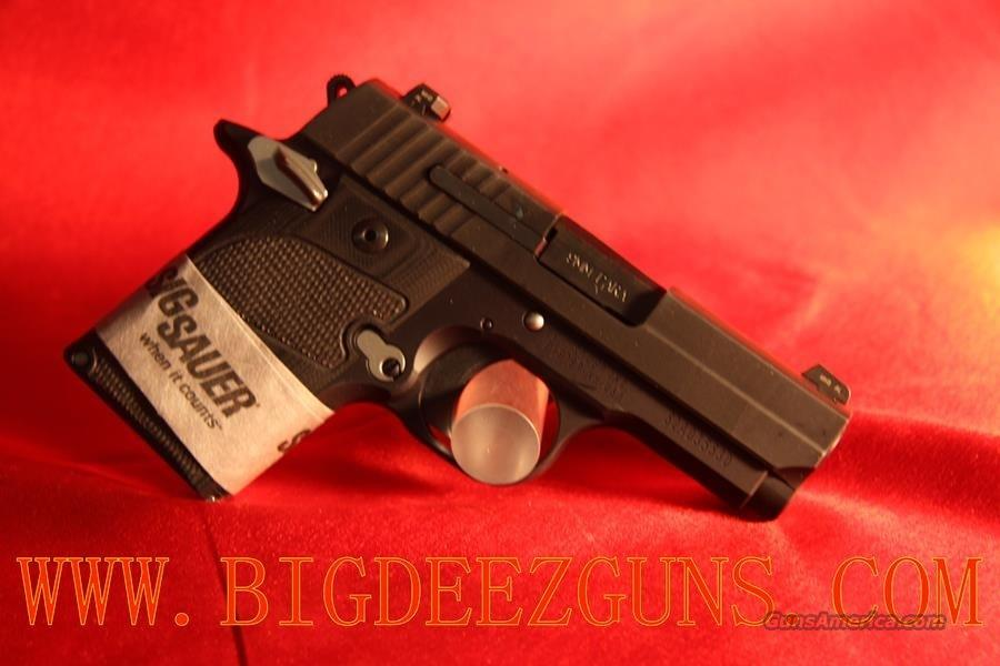 Sig Sauer P938 NIGHTMARE AMBI SAFETY 6 ROUND CAPACITY 9MM 938-9-NMR-AMBI  Guns > Pistols > Sig - Sauer/Sigarms Pistols > Other