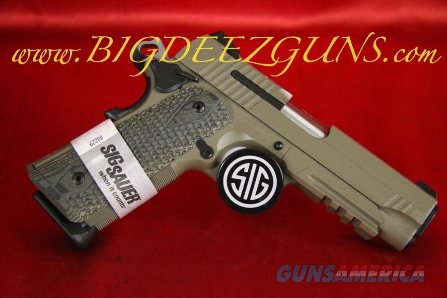 Sig Sauer 1911 CARRY SCORPION 1911CAR-45-SCPN .45ACP FDE  Guns > Pistols > Sig - Sauer/Sigarms Pistols > 1911