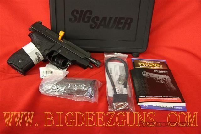 Sig Sauer M11 9mm THREADED BARREL SigLite Night Sights DA/SA M11-A1-TB  Guns > Pistols > Sig - Sauer/Sigarms Pistols > Other