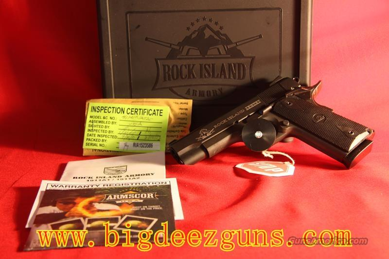 Rock Island Armory M1911 A1 .45ACP MS Tactical 51443  Guns > Pistols > Armscor Pistols