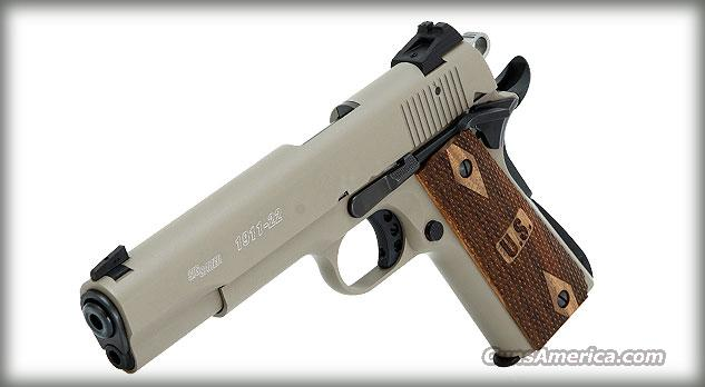 Sig Sauer Sig 191122fde 1911 22LR 10R FDE  NEW IN BOX FREE SHIPPING  Guns > Pistols > Sig - Sauer/Sigarms Pistols > 1911