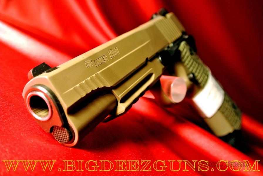 Sig Sauer 1911 SCORPION FULL SIZE 8 + 1 45 ACP 2 Magazines 1911R-45-SCPN  Guns > Pistols > Sig - Sauer/Sigarms Pistols > 1911