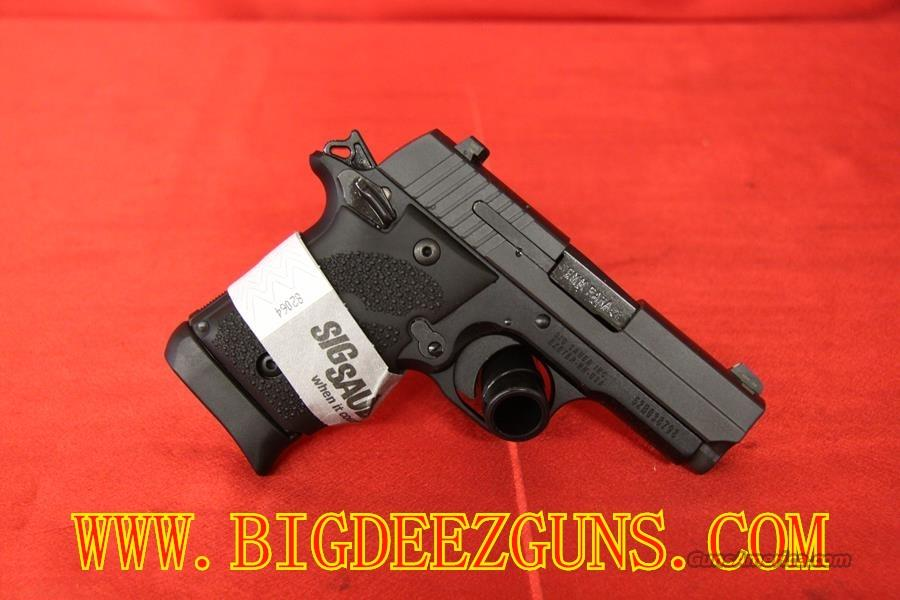 Sig Sauer P938 BLACK RUBBER GRIP 7 ROUND 9MM 1911 CONCEAL CARRY 938-9-BRG-AMBI  Guns > Pistols > Sig - Sauer/Sigarms Pistols > Other