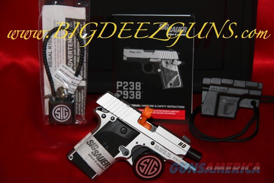 Sig Sauer P238 HD CALIFORNIA 238-380-HD-CA .380ACP 1911 POCKET CONCEAL CARRY   Guns > Pistols > Sig - Sauer/Sigarms Pistols > P238