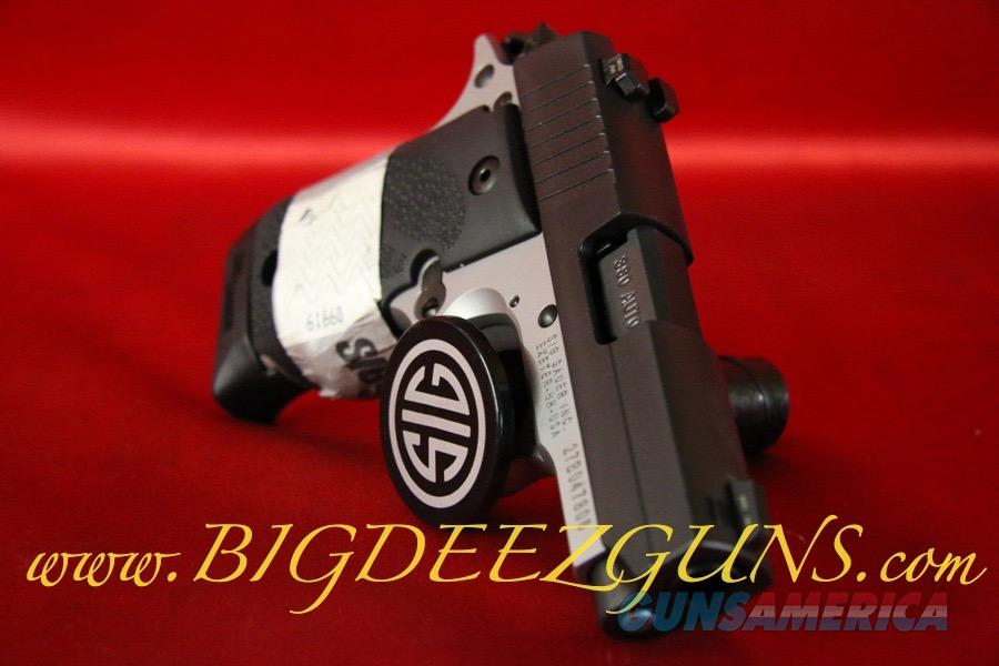 Sig Sauer P238 REVERSE TWO TONE 238-380-RTSS .380ACP 1911 POCKET CONCEAL CARRY  Guns > Pistols > Sig - Sauer/Sigarms Pistols > P238
