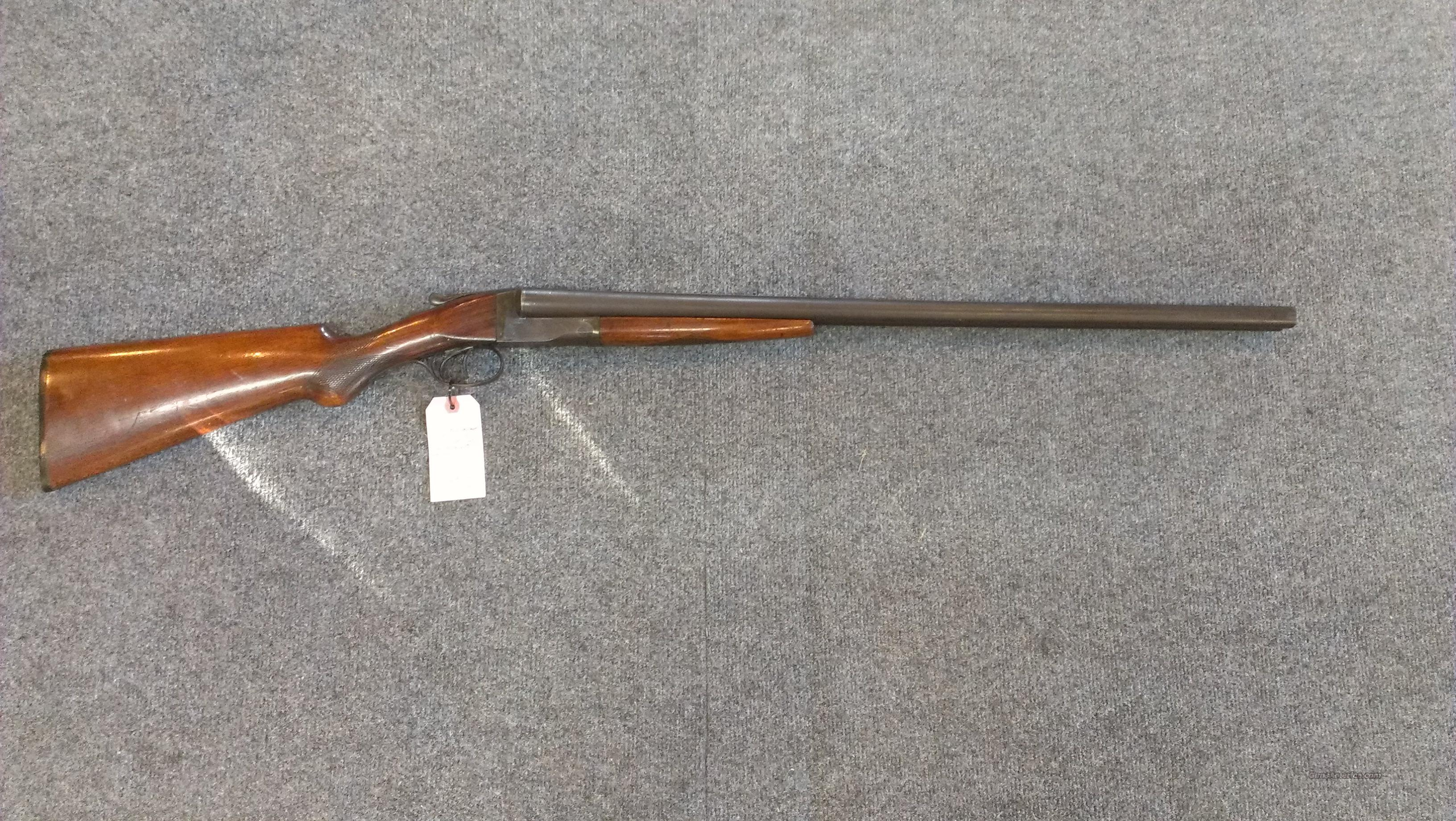 Hunter Arms Model Fulton Double Barrel SxS 12 Gauge  Guns > Shotguns > L.C. Smith Shotguns