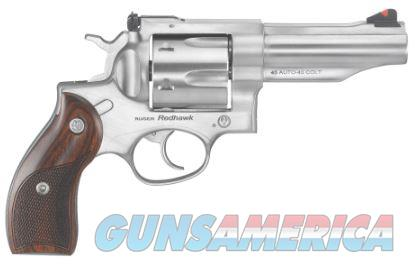 "Ruger Redhawk 45LC & 45 ACP 4.2"" Barrel Stainless 5032 FREE 60 DAY LAYAWAY 736676050321  Guns > Pistols > Ruger Double Action Revolver > Redhawk Type"