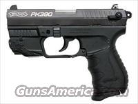 Walther PK380 w/ Factory Laser  Guns > Pistols > Walther Pistols > Post WWII > PK380