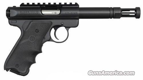 Ruger Mk III Threaded Barrel & Flash Suppressor  Guns > Pistols > Ruger Semi-Auto Pistols > Mark I & II Family