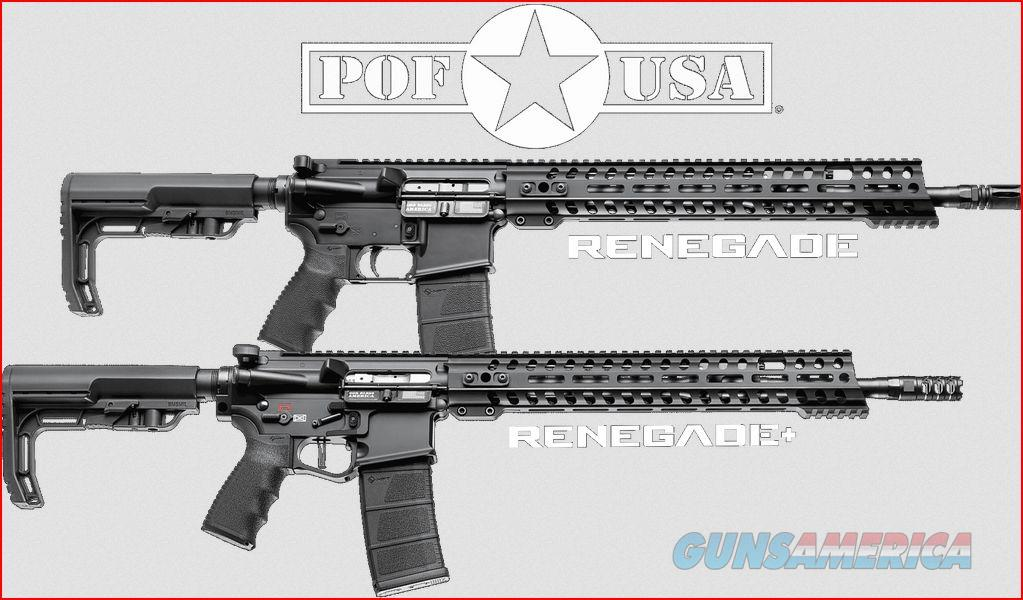 POF Renegade 5.56 AR15 Patriot Ordnance Factory AR-15 FREE 120 DAY LAYAWAY & FREE SHIPPING 00857  Guns > Rifles > AR-15 Rifles - Small Manufacturers > Complete Rifle