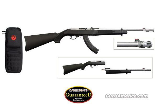 Ruger 10/22 Takedown Davidsons Exclusive Stainless Threaded Barrel 11125  Guns > Rifles > Ruger Rifles > 10-22