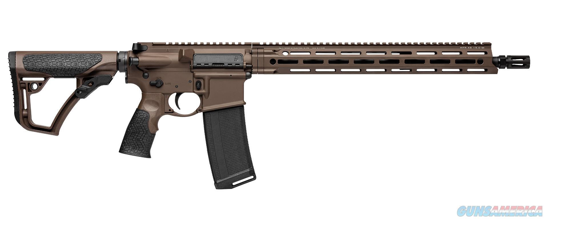 Daniel Defenese DDM4 V7 MilSpec+ Brown 5.56/223 FREE 120 DAY LAYAWAY & FREE SHIPPING 02-128-02338-047 815604018562  Guns > Rifles > Daniel Defense > Complete Rifles
