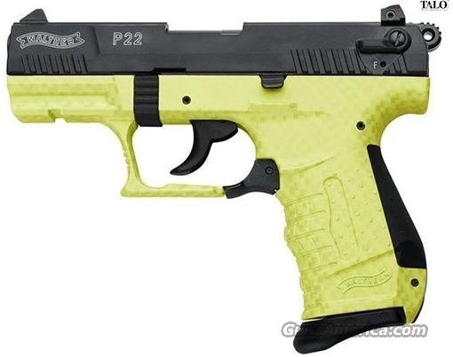 Walther P22 Lime Carbon TALO EXCLUSIVE FREE LAYAWAY  Guns > Pistols > Walther Pistols > Post WWII > P22