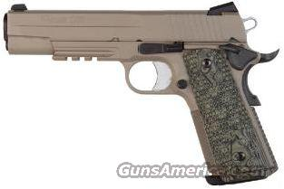 Sig Sauer 1911 Scorpion 45 FDE, Rail FREE LAYAWAY  Guns > Pistols > Sig - Sauer/Sigarms Pistols > 1911