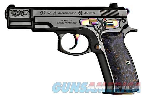 CZ 75 B 9mm 40th Anniversary #134 FREE 90 DAY LAYAWAY or FREE SHIPPING 91144  Guns > Pistols > CZ Pistols