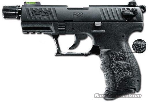 Walther P22 P22Q Tactical Threaded Barrel  Guns > Pistols > Walther Pistols > Post WWII > P22