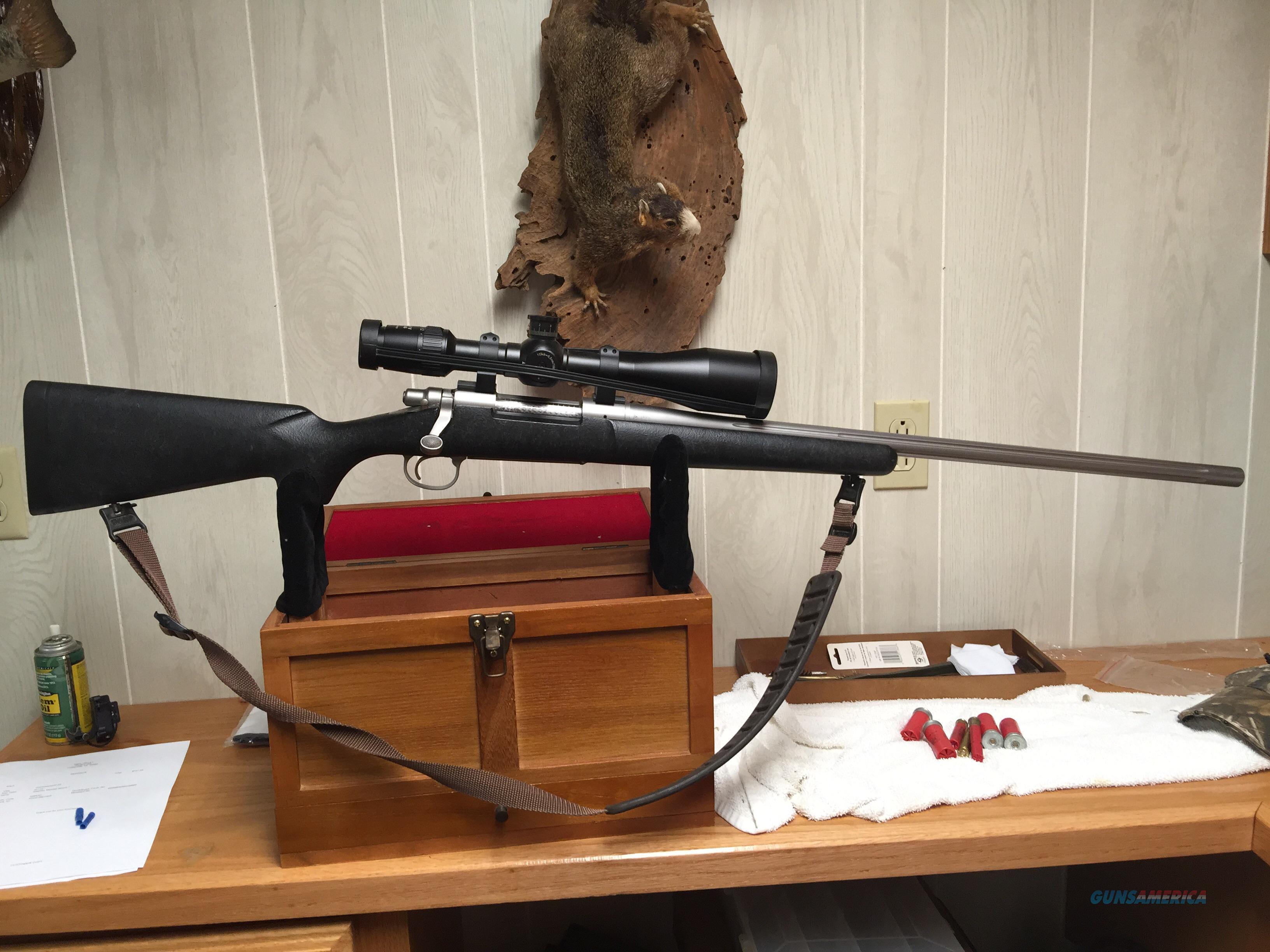 Remington sendero 7mm stw w zeiss scope guns gt rifles gt remington