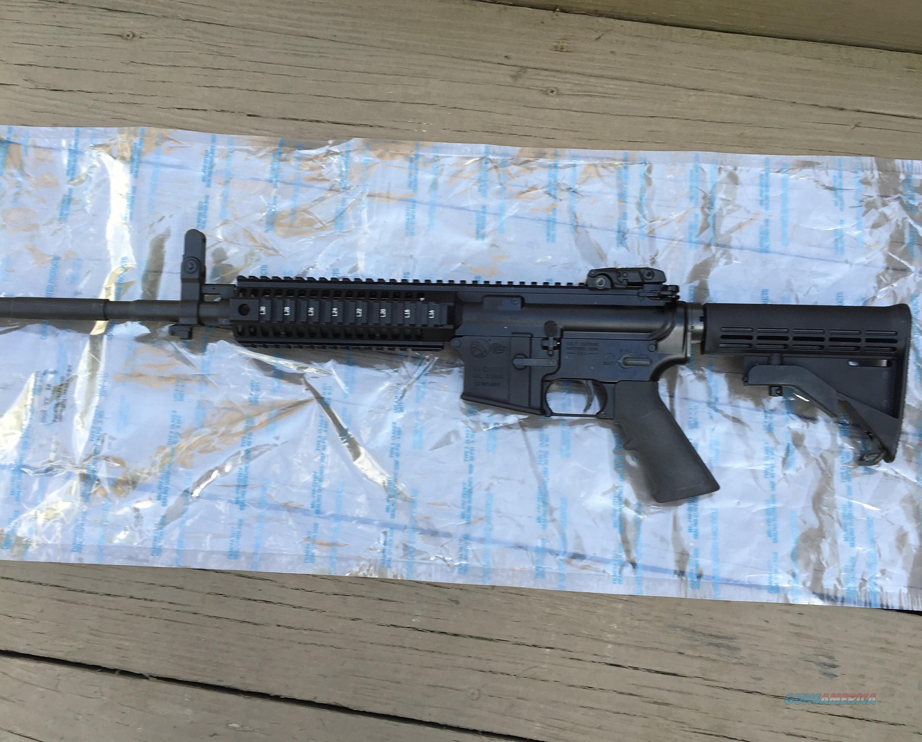Colt LE 6940 Quad Rail AR-15 NIB  Guns > Rifles > Colt Military/Tactical Rifles