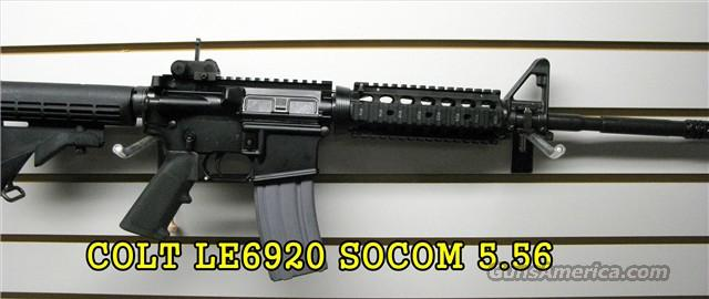 Colt Law Enforcement M4 A1 SOCOM Carbine 5.56 NATO / 223 Rem. NEW! LE6920  Guns > Rifles > Colt Military/Tactical Rifles