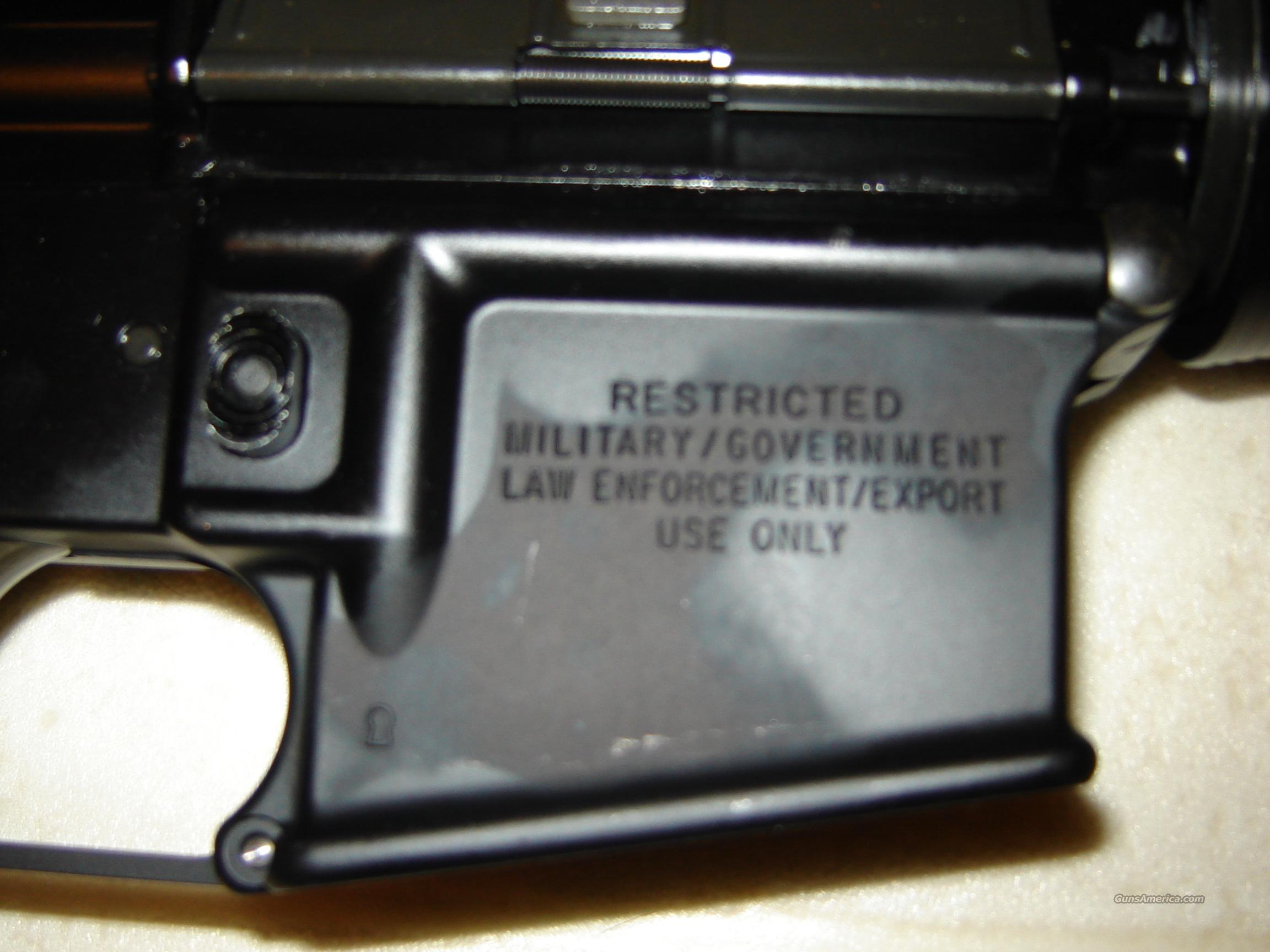 "COLT 6920 LE M4 ""Restricted/Mil/GOVT  Consecutive Serial #  Guns > Rifles > Colt Military/Tactical Rifles"