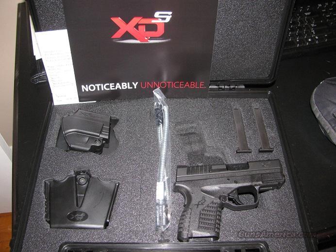 XDS Springfield .45 New in Box  Guns > Pistols > Springfield Armory Pistols > XDs