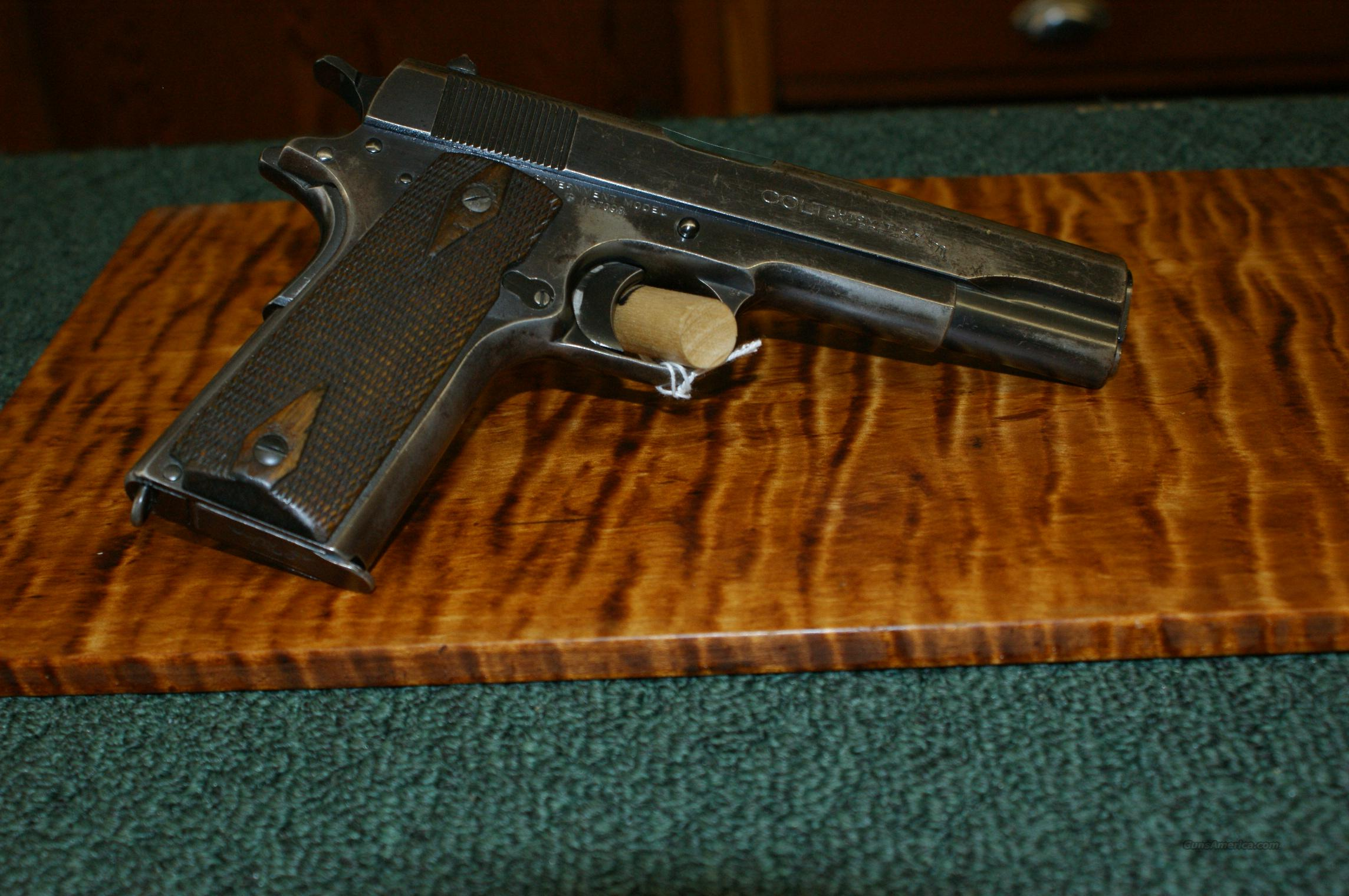 Colt Government 1911-Commercial 1915  Guns > Pistols > Colt Automatic Pistols (1911 & Var)