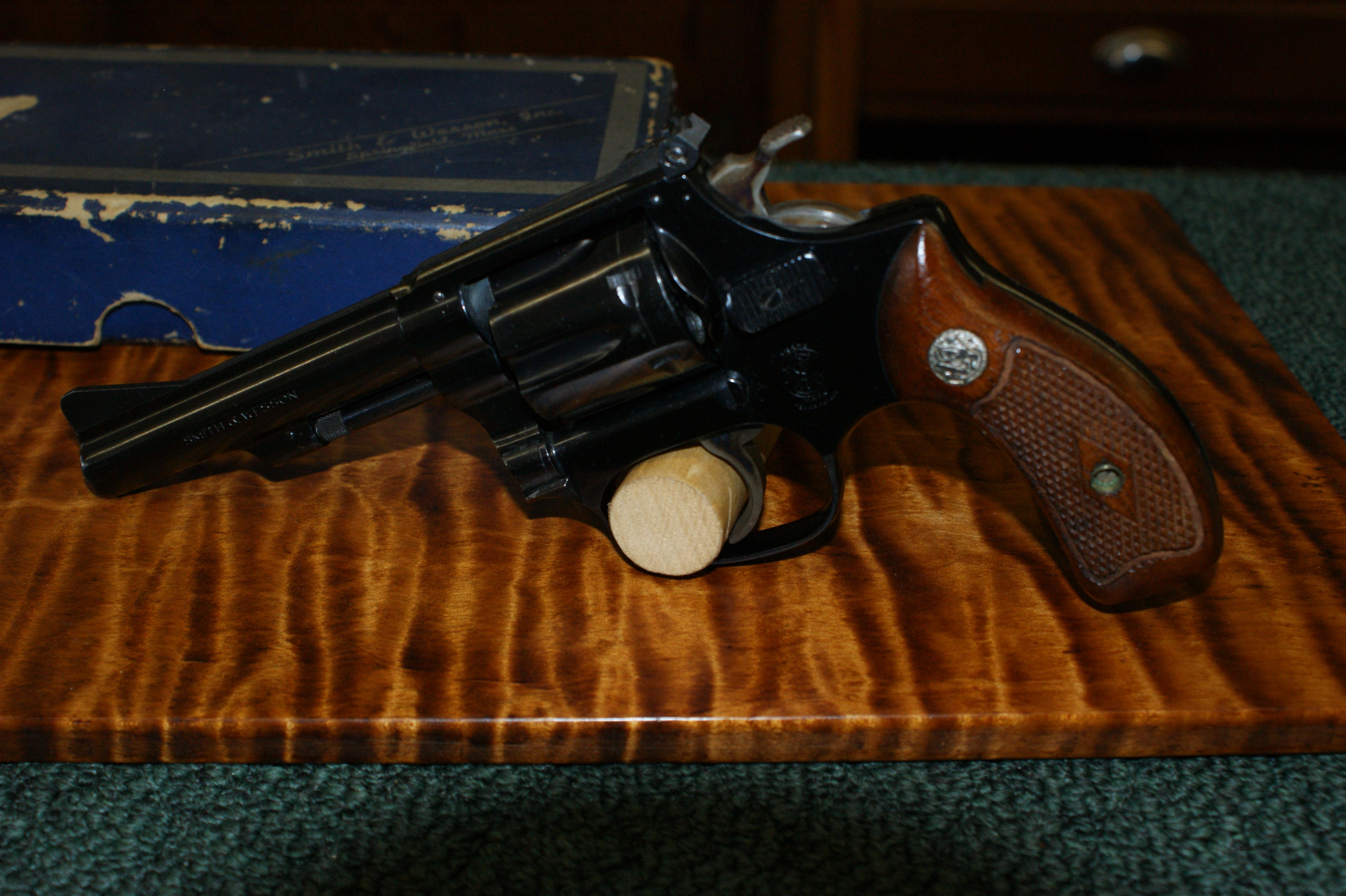Smith & Wesson Kit Gun model 34   .22lr  Guns > Pistols > Smith & Wesson Revolvers > Full Frame Revolver
