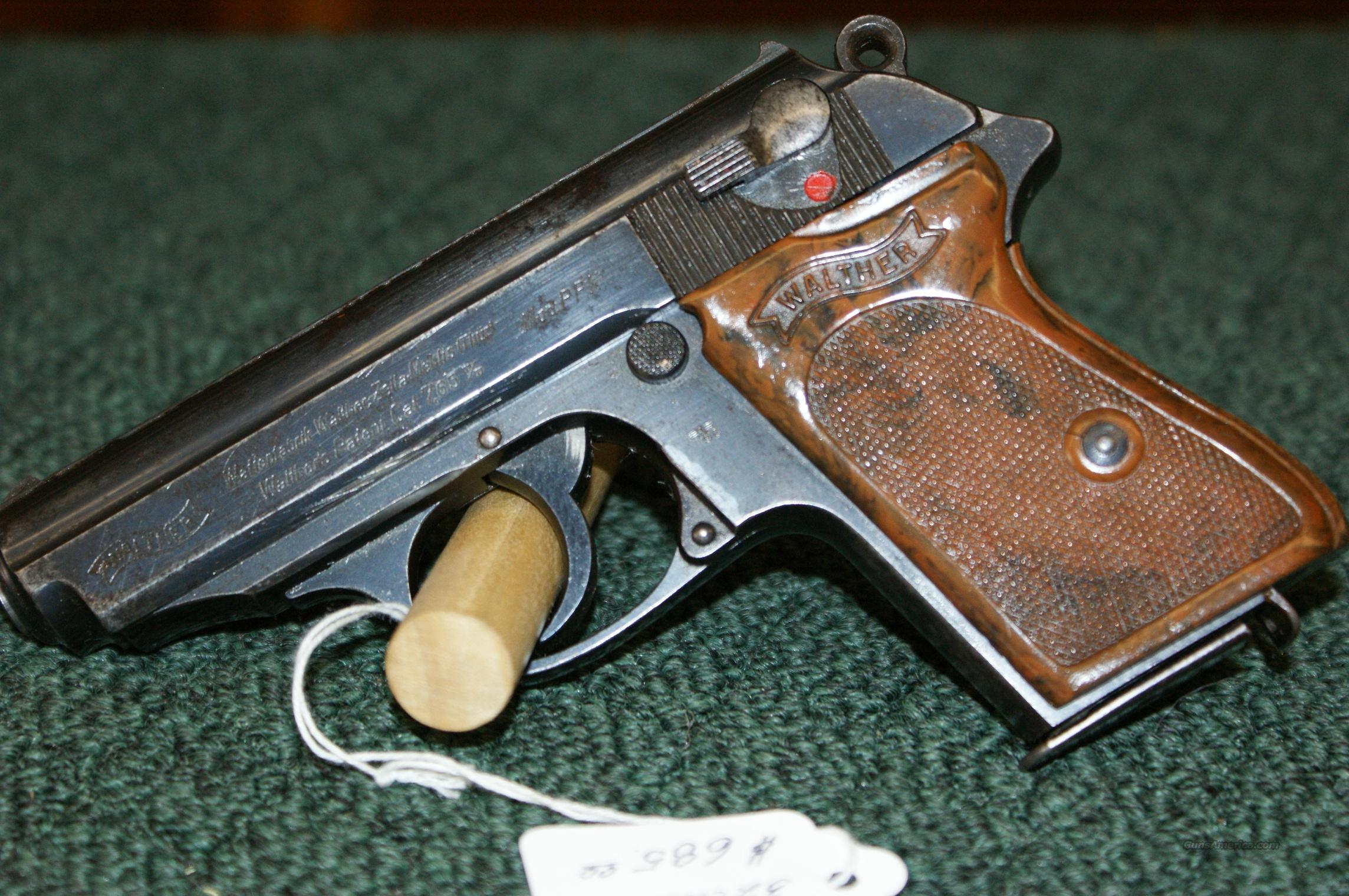 Walther PPK ( Nazi N-proofed)  Guns > Pistols > Military Misc. Pistols Non-US