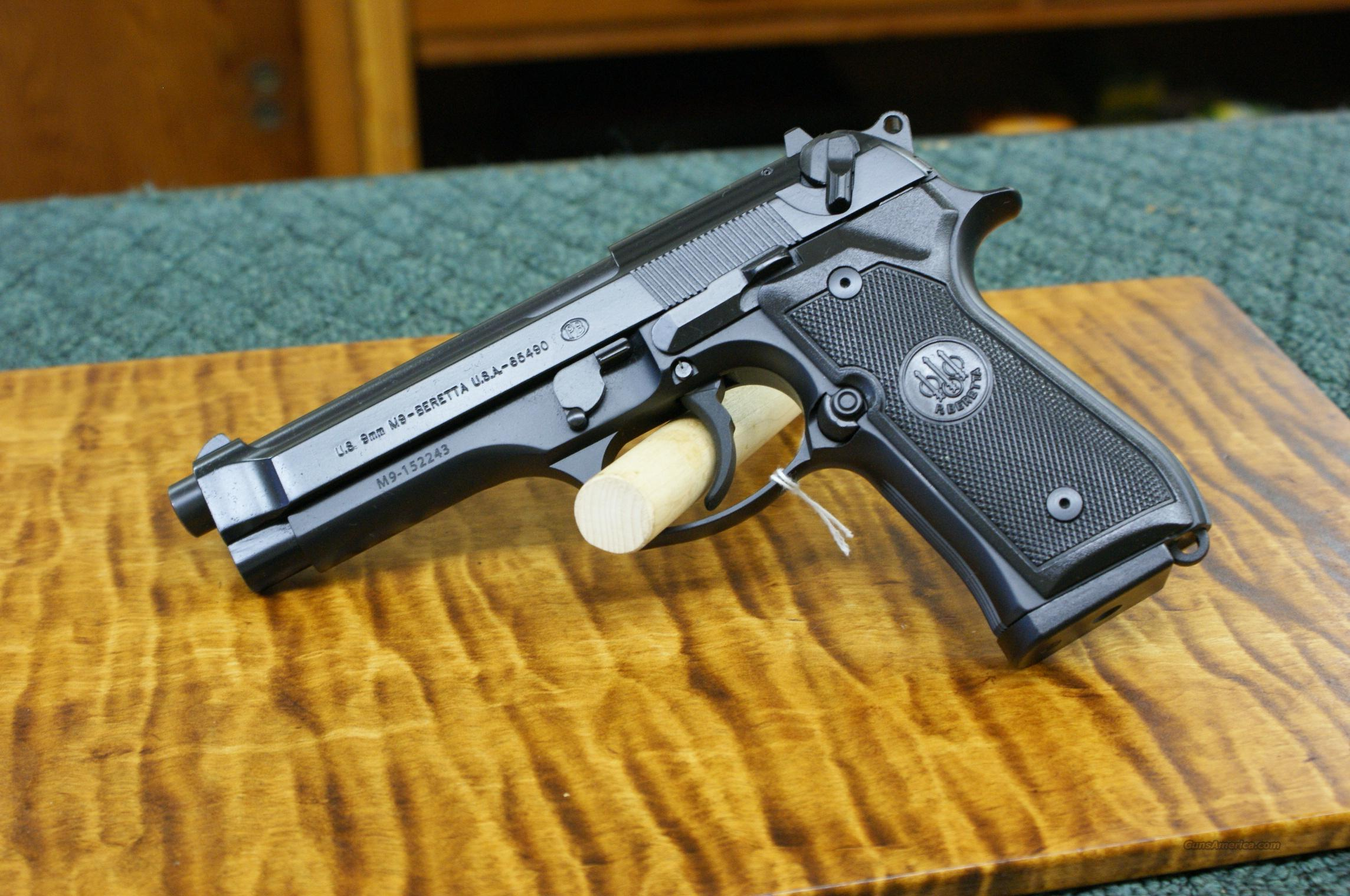 Beretta model M-9   Guns > Pistols > Beretta Pistols > Model 92 Series