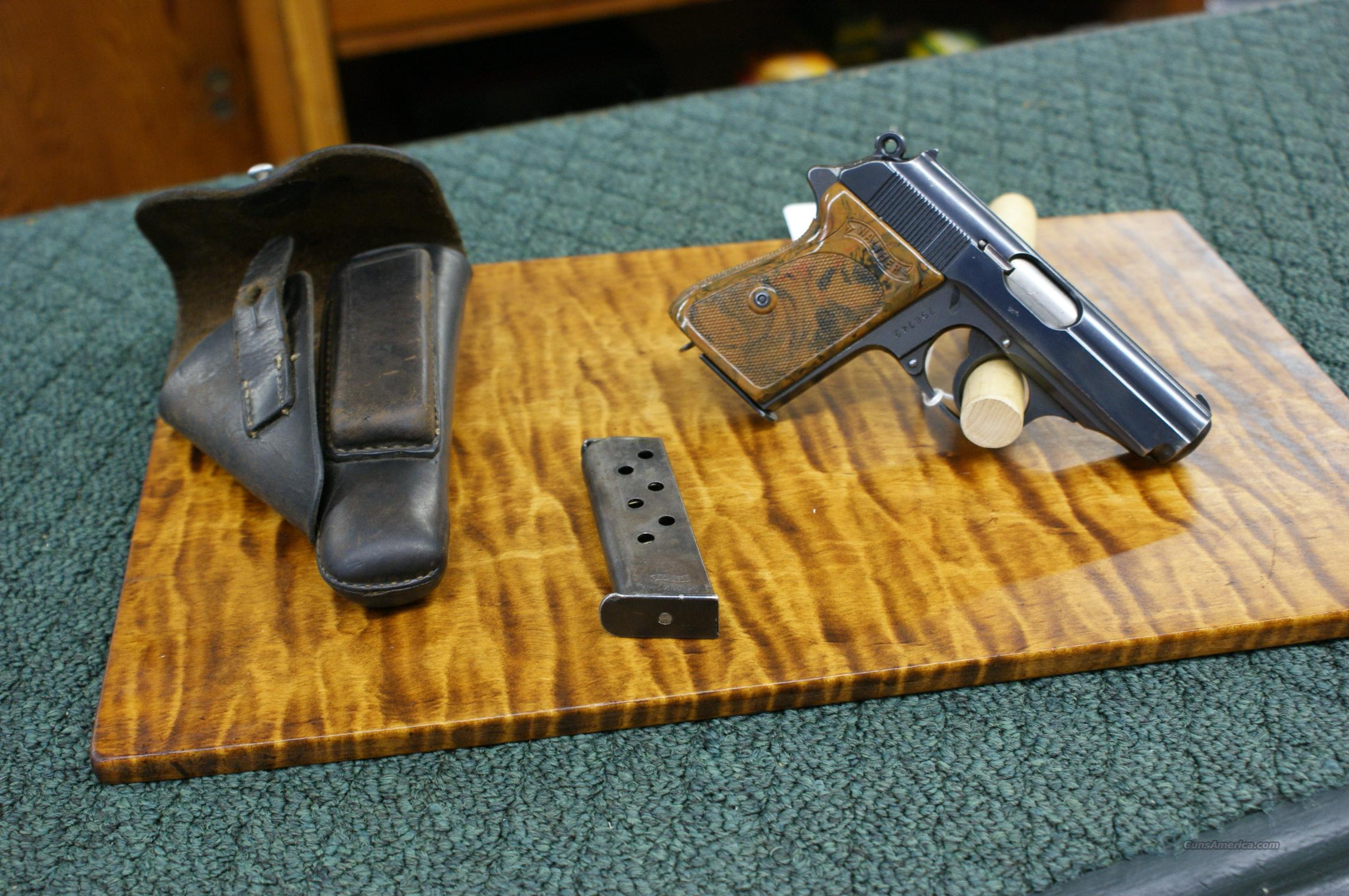 Walther PPK  with holster  Guns > Pistols > Military Misc. Pistols Non-US