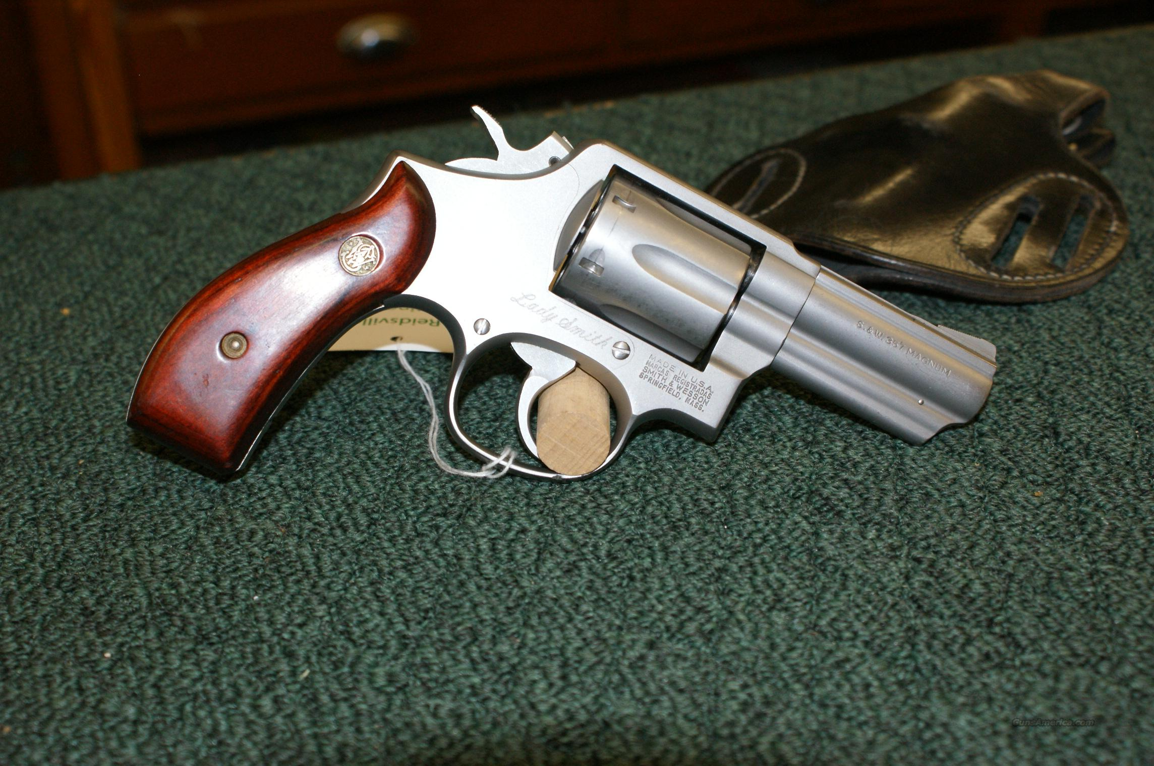 "Smith & Wesson ""Lady Smith"" magnum  Guns > Pistols > Smith & Wesson Revolvers > Full Frame Revolver"