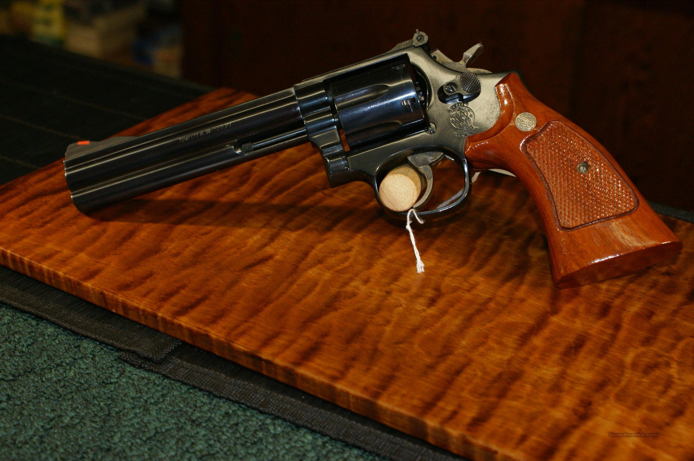 "Smith & Wesson model 586  .357 mag. 6""  Guns > Pistols > Smith & Wesson Revolvers > Full Frame Revolver"