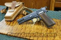 Browning Hi-Power Austrian Police post War- w/holster  Guns > Pistols > Browning Pistols > Hi Power