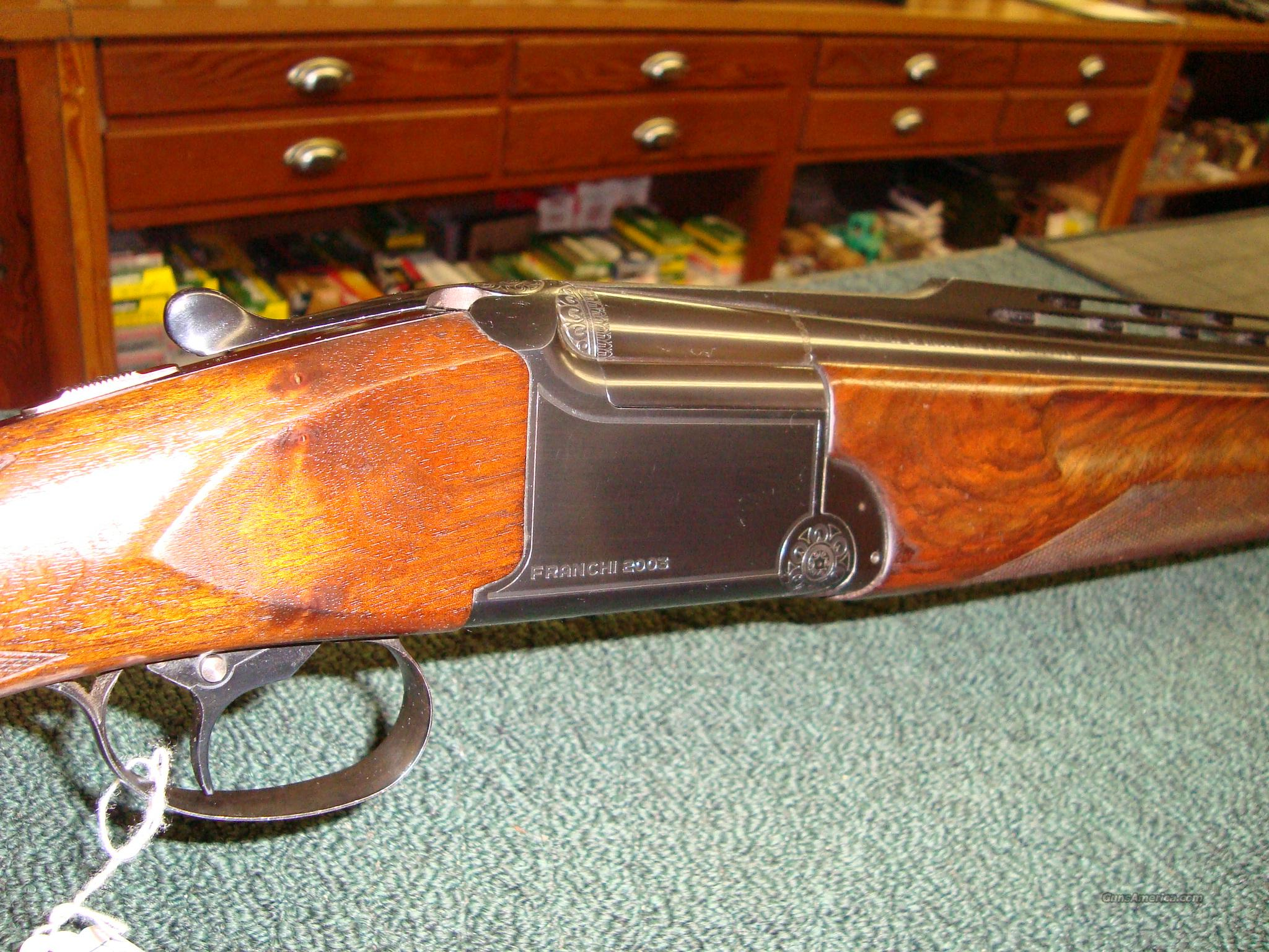 Franchi model 2003 Trap  Guns > Shotguns > Franchi Shotguns > Over/Under > Trap/Skeet