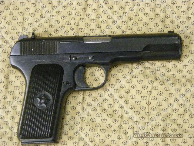 Norinco M-54-1 ( 213 ) 2 Barrels! 9mm & 7.62X25  Guns > Pistols > Military Misc. Pistols Non-US
