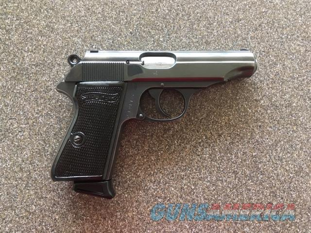 WALTHER PP .32 ACP EARLY-WAR NAZI PISTOL  Guns > Pistols > Walther Pistols > Pre-1945 > PP